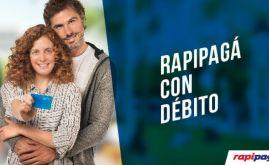 Nueva modalidad de pago con débito en Rapipago