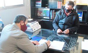 Firma de convenio con la Municipalidad de Las Heras