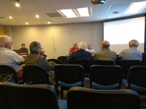 La Caja mantuvo una reunión con afiliados beneficiarios